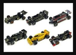 ①suntorylotus Collection Formula Car Die-cast Pull Backall 6 Cars Complete Set
