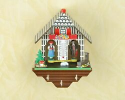 German Small Traditional German Black Forest Weather House