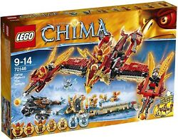 Lego Legends Of Chima Flying Phoenix Fire Temple Kids Building Play Set | 7