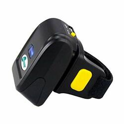 Bluetooth Ring Barcode Scanner Portable Wirless Barcode Scanner Mini 1d 2d...