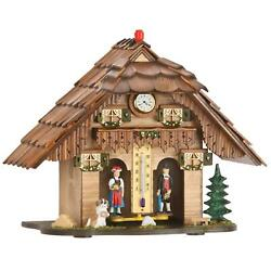Exclusive Traditional German Black Forest Weather House From Germany Big Size