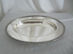 Poole Silver Co. Serving Bowl Epns -1021 Mh