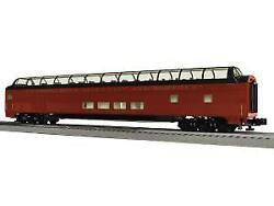 Lionel 6-85376 O Reading And Northern Stationsounds Dome Car 4