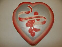 Vintage Valentine's Day Candy Box Chocolate Covered Cherries