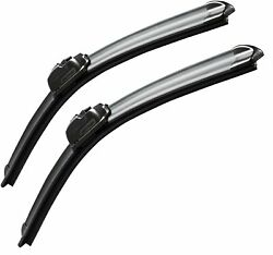 Oem Quality Premium All-season Windshield Wiper Blades 2 Pack Size 24 And 24