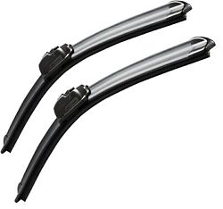 Oem Quality Premium All-season Windshield Wiper Blades 2 Pack Size 20 And 20