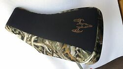 Yamaha Grizzly 660 Camo Gripper Seat Cover Bonz Skull Camo Fits All Years