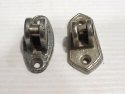 Vintage 1920and039s 1930and039s Trunk Rack Hinge Bracket - Buick Cadillac / Lasalle