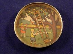 Vintage Toy Dexterity Game Puzzle Hand Held Child Apple Tree Ladder Germany
