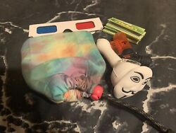 Tie Dye Pouch Silicone V Pipe 3 Moon Hemp Papers Torch Lighter 3d Glasses