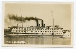 Rppc Ny 1000 Thousands Islands Steamer The Rochester Jefferson County