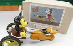 Young Epoch Co., Ltd. Tin Toys Mickey And Pluto Tin Toy Series Boxed / Opened Jpn