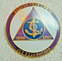 Collectable Anchor Your Life In Jobs Daughters In Grand Session Pin 1999-2000