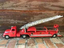 Tonka Red M.f.d Fire Truck No.5 1954 1st Edition Arial Ladder Original Condition