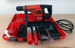 Hilti Te-40 Avr Rotary Hammer Drill In Case With Accessories- New Lowered Price