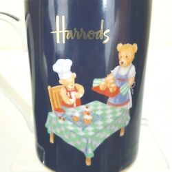 Harrods Teddy Bears Preparing Cupcakes And Other Food Mug Cup
