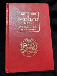 1987 40th Edition Red Book 95th Anniversary Ana Convention Milwaukee Rare Cover
