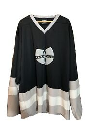 Vintage 90s Signed Wu Tang Hockey Jersey Size 5x