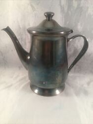 Braniff Airlines Coffee Pot Server Oneida Stainless 8