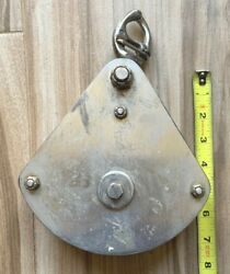 Heavy Duty Stainless Wire Pulley Block