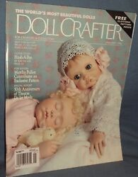 12 Old 1996 Doll Crafter Magazines W/pattern Australia Bridal Party Indian Angel