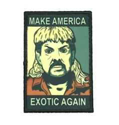 Joe Exotic 2x3 Inch Iron On Tiger King Patch Velcroandreg Brand Fastener Available