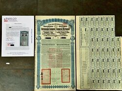 Authentic China Super Petchili Bonds 1913 Lung Tsing U Hai Coupons With Pass-co