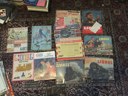 1930and039s 40and039s 50and039s 60and039s Lionel Trains Catalogs Lot Of 30+ Original
