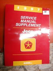 1997 Jeep Wrangler Factory Service Manual Supplement Mid Year Update