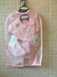 Baby Girl Layette Sleepsuit 7 Piece Set Pink Welcome Star 0-3months 3-6 Months