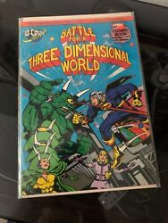 Battle For A 3 Dimensional World Signed By Jack Kirby