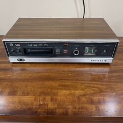 Vintage Panasonic Rs-803us 8-track Stereo Player And Recorder. Rare.