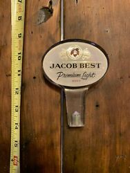 Very Rare Vintage Lucite Pabst Jacob's Best Beer Tap Handle