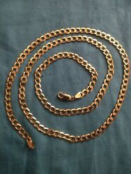 14k Gold Chain Pre Owned Good Condition 14.5 Grams 26inch Long