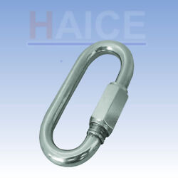 10 Pieces 3/16 316 Stainless Quick Link Closing Shop Clearance