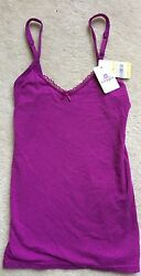 B.tempt'd By Wacoal B.natural Camisole Cami Pink Small Nwt 914256