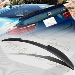 For 2015-2017 Bmw X4 F26 V-style Real Carbon Fiber Rear Trunk Lid Spoiler Wing