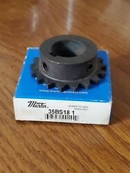 Martin 35bs18 1 Bored To Size Sprocket 35bs181 Shop Farm Tool Hardware Part