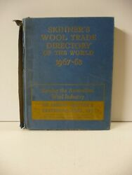 Skinnerand039s Wool Trade Directory Of The World 1967-68 - Thomas Skinner And Co. Ltd.