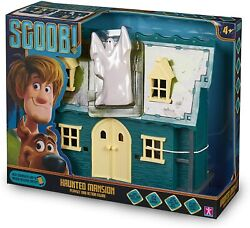 Scooby Doo Scoob Haunted Mansion Toy Playset And Ghost Action Figure Set