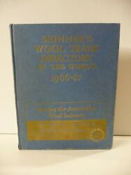 Skinnerand039s Wool Trade Directory Of The World 1966-67 - Thomas Skinner And Co. Ltd.