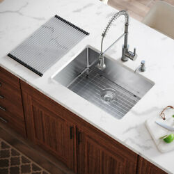 Mr Direct 2620s All-in-one Kitchen Sink, 26 Inch