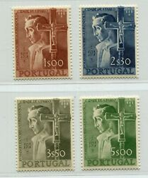 Portugal 1954 400 Years Founding Of St Paulo 800-803 Afinsa 802-806 Perfect Mnh