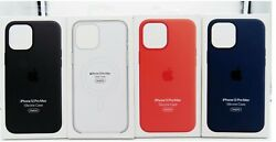 Genuine Apple Silicone Soft Case with MagSafe for Apple iPhone 12 Pro Max 6.7quot; $19.95