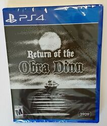 Return Of The Obra Dinn Ps4 Playstation 4 Game - New/sealed Limited Run
