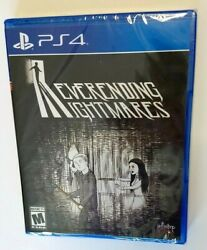 Neverending Nightmares Ps4 Playstation 4 Game - New/sealed - Limited Run