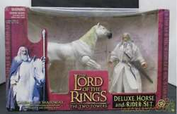 Toy Biz Lord Of The Rings Figure Deluxe Horse And Rider Set