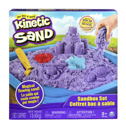 Kinetic Sand Sandbox Playset With Sand And Molds