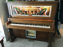 Vintage Nickelodeon Converted From A 1907 American Player Piano Nice