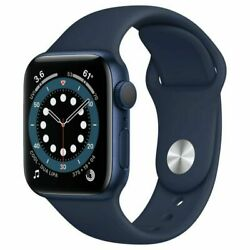 Apple Watch Series 6 Gps + Cellular 40mm Space Gray Aluminium Case With Black S